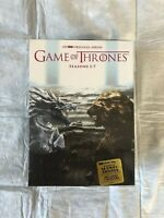 Game of Thrones: The Complete Seasons 1-7 (34-Disc Set,DVD) Brand New
