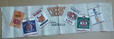"""Fosters beer cloth linen bar pub Towel 31"""" long game room man cave Australia"""
