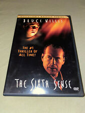 The Sixth Sense Dvd Widescreen M. Night Shyamalan Bruce Willis Movie