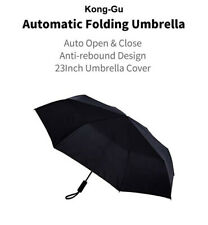 Kong-Gu Automatic Opening Folding Umbrella Anti-UV Aluminum Windproof