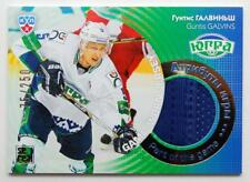2013-14 KHL Gold Collection Part of the Game #JRS-008 Guntis Galvins 075/250