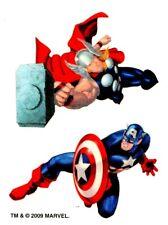 Marvel Tattoo 7-10, Temporary Tattoo, Captain Amerika / Thor