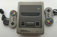 Nintendo Super Famicom Console Controller x2 SNES Japan Import - Tested!