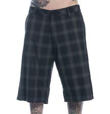 Wedge Men's Plaid Walk Shorts by Sullen