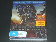 Transformers: Revenge of the Fallen 3-Disc Set Blu-ray Special Edition