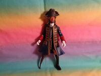 2011 Disney Pirates of the Caribbean Captain Barbossa Action Fig Jakks Pacific
