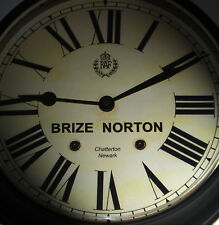 Royal Air Force Style, RAF Brize Norton, Souvenir Vintage Style Wall Clock.