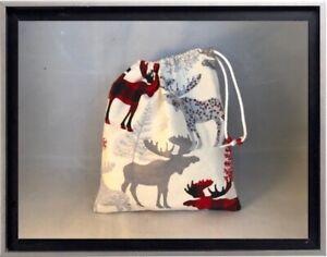 Gymnastics Leotard Grip Bags / Plaid Moose Gymnast Birthday Goody Bag