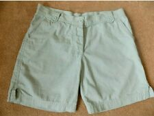 Mint green cargo shorts. UK 12