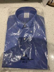 Brooks Brothers Blue Long Sleeve Shirt (NEW RRP £89)