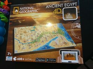 National Geographic: Ancient Egypt Puzzle, 600 Piece - 4D Cityscape  NEW