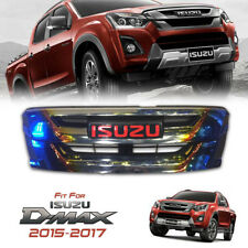 FOR ALL NEW ISUZU D-MAX DMAX 2015-2017 FRONT GRILLE GRILL GOLD TITANIUM RED LOGO