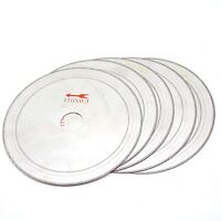 "5 Pcs 6"" Super-thin diamond lapidary saw blade Cutting Disc Arbor 25mm Rim 0.4mm"