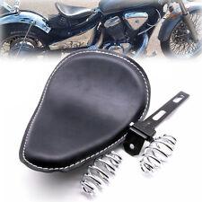 """3"""" Spring Solo Seat Bracket Kit For Harley Honda Yamaha Sportster Bobber Chopper"""