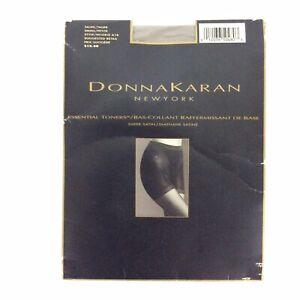 Donna Karan Essential Toners Pantyhose Size Small Taupe Control Top