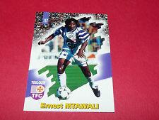 PANINI FOOTBALL CARD 98 1997-1998 ERNEST MTAWALI TOULOUSE FC Téfécé TFC STADIUM