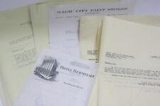 1928 Lamson Goodnow Magic City Paint Birmingham Meyer Accounting Ephemera L17F