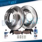 Front Disc Rotors + Brake Pads for GMC Sierra Savana Chevy Silverado 2500 3500  for sale