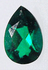 Emerald Synthetic 6mm x 4mm Pear Lab Created