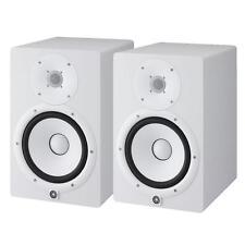 "Yamaha HS5 White Powered Studio Monitor PAIR, 5"", 2Way  Free Ship & XLR Cables"