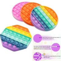 2021 Push Pop Bubble Fidget Sensory Toy Autism Stress Reliever Family Kids Gifts
