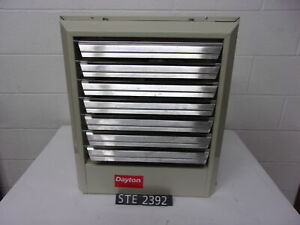 NEW DAYTON UNIT HEATER 2YU73 480 VAC 15KW 3 PHASE (STE2392)