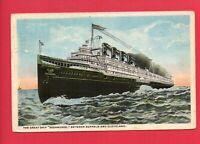 SEEANDBEE C&B SHIP BUFFALO CLEVELAND FIKE SELBYSPORT MD 1918  POSTCARD