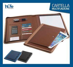 Cartella Portadocumenti Porta Tablet Documenti Cartelletta A4 Borsa Porta Uomo 1