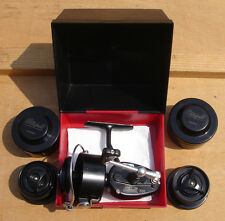 vintage reel MITCHELL 300 Arca in box + 2 spare spools