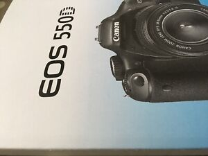 Canon EOS 550D Manual - Printed & Professionally Bound Size A5 - NEW 260 Pages