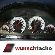 Tachoscheibe für BMW E38-E39 E53/X5 *Weiss*250Kmh Benziner M5 top