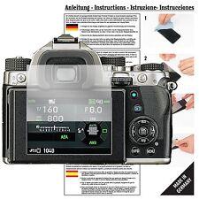 6x Schutzfolie für Pentax KP APS-C-Spiegelreflexkamera Folie Displayschutzfolie