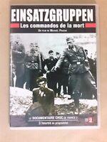 DVD / EINSATZGRUPPEN, LES COMMANDOS DE LA MORT / MICHAEL PRAZAN / 3 HS DE FILM