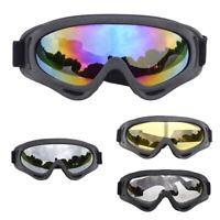 2Pcs Motocross Dirt Bike Goggles Motorcycle Eyewear ATV UTV Offroad Race Glasses