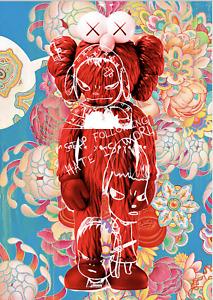 "45x32cm Death NYC Ltd Ed LARGE Signed Graffiti Pop Art Print ""DEATHG913"""