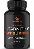 L-Carnitine Fat Burner Weight Loss Diet Pills Appetite Suppressant Metabolism