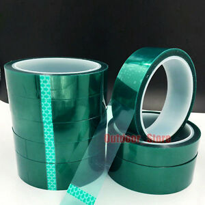 (5mm~50mm)High Temperature Heat Resistant Insulation Tape PET Green Tape