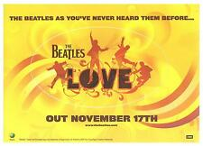 The Beatles as you´ve never heard them before... - Promoaufkleber - siehe Bild