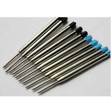 NEW SALE 10PCS for Parker style Ballpoint Pen ink Refills lot BLUE*5 & BLACK*5 P