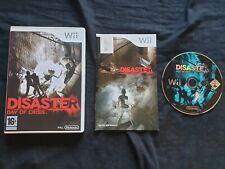 DISASTER DAY OF CRISIS Nintendo Wii Game