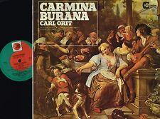 CARMINA BURANA Carl Orff VINYL LP Kurt Prestel SALZBURG MOZARTEUM GSGC 2000 @VGC