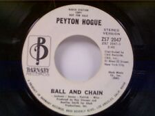 "PEYTON HOGUE ""BALL AND CHAIN / MONO"" 45 PROMO"