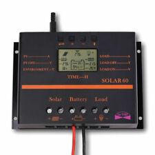 60A Solar Charge Regulator Controller Back-Lights 12V/24V Auto