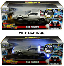 Jada Back To The Future II - Light Up - Delorean Time Machine 1:24 Diecast Car