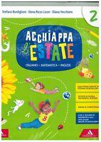 Acchiappa l'estate 2° A.Mondadori scuola education, libri scuola primaria