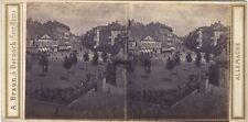 Allemagne Frankfurt Francfort ? Photo Braun Stereo Vintage albumine ca 1860