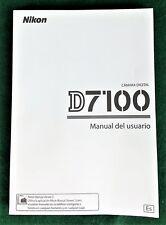 Nikon D7100 Manual del usuario en Espanol Users Guide in Spanish 2013