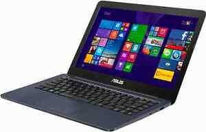 "ASUS Laptop 14.0"" SCREEN Intel 1.83Ghz 2GB 32GB Windows 8 Wifi Cam USB 3.0"