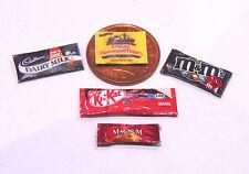 1:12 scala 5 MISTI SWEET pacchetti DOLLS HOUSE miniatura negozio di alimentari Accessorio Set 1