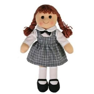 Brand New Girls Toy Rag doll woollen hair soft body & outfit Penelope ragdoll